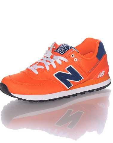 NEW BALANCE MENS Orange Footwear / Sneakers 10