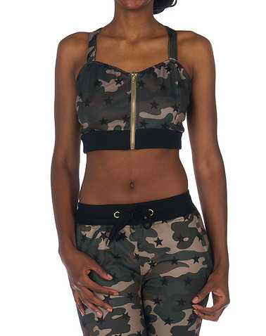 ESSENTIALS WOMENS Dark Green Clothing / Tops L