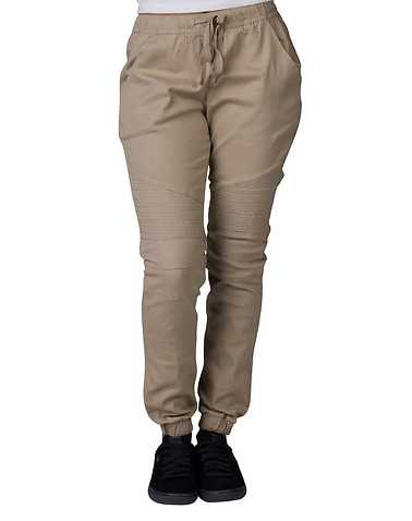ESSENTIALS WOMENS Beige-Khaki Clothing / Bottoms XXL