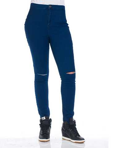 ESSENTIALS WOMENS Blue Clothing / Jeans 0