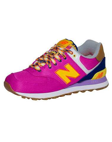 NEW BALANCE WOMENS Pink Footwear / Sneakers