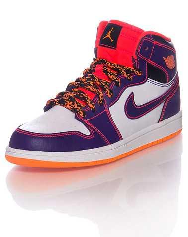 JORDAN GIRLS Multi-Color Footwear / Sneakers 2Y