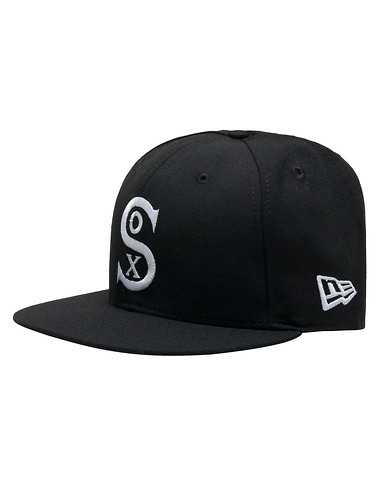 NEW ERA MENS Black Accessories / Caps Snapback OSFM