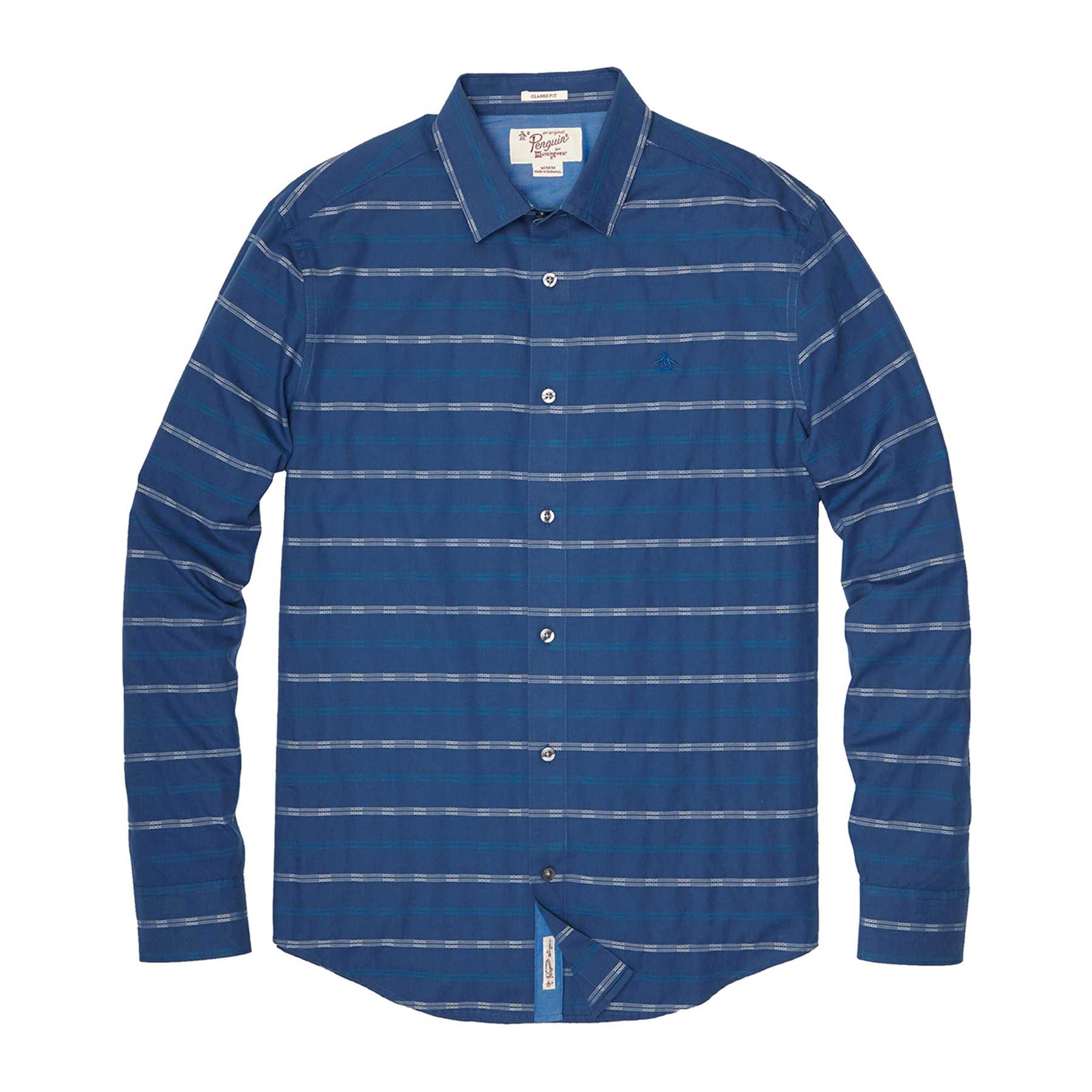 Original Penguin GEO STRIPE SHIRT