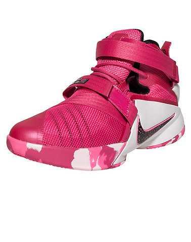 NIKE GIRLS Pink Footwear / Basketball 6Y