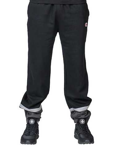 CHAMPION MENS Black Clothing / Sweatpants M
