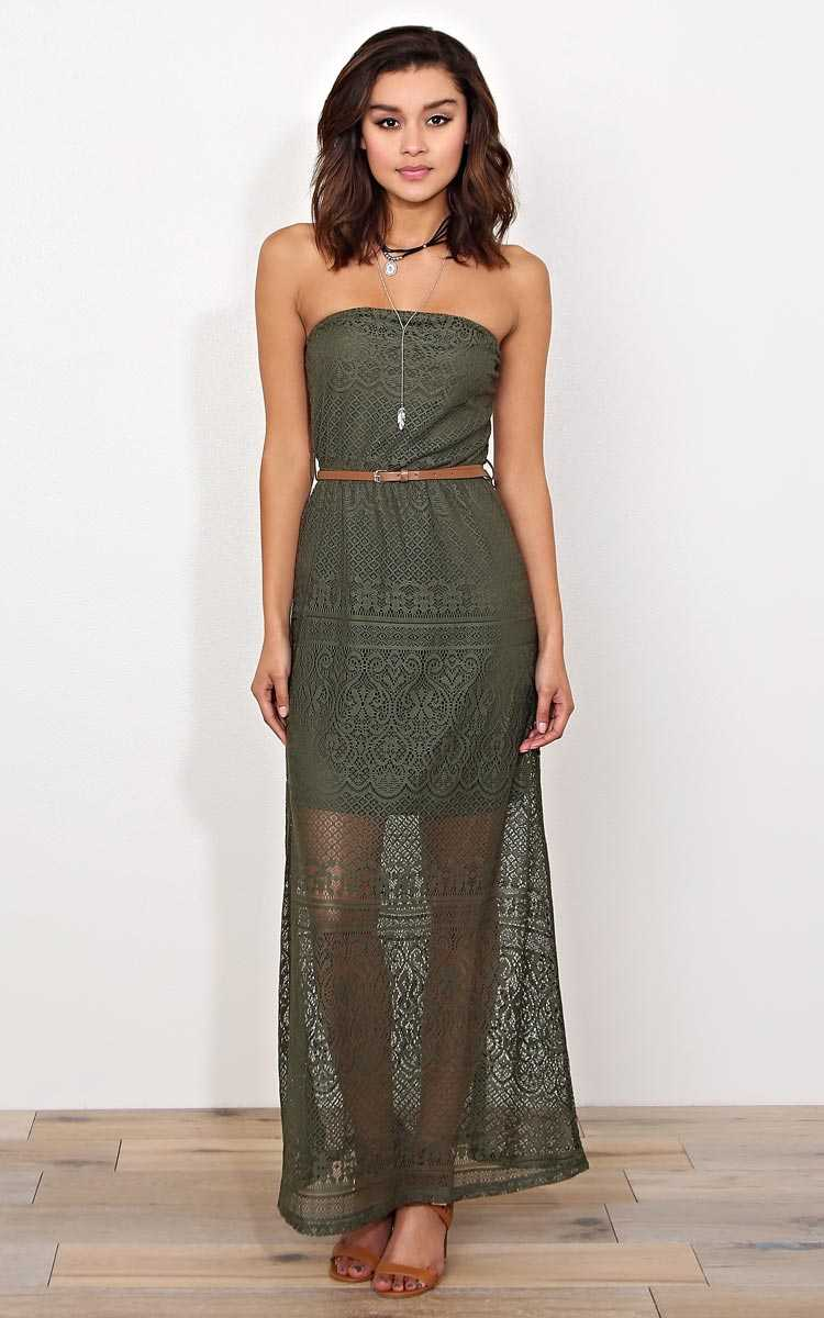 Felicity Lace Maxi Dress - in Size by Styles For Less