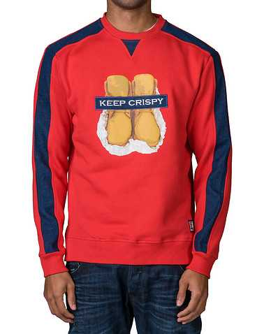 KOO DOO MENS Red Clothing / Sweatshirts L