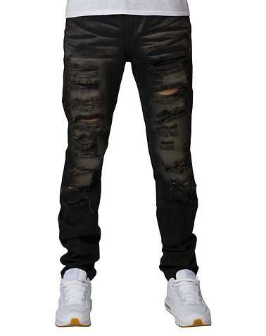 CRYSP MENS Black Clothing / Jeans 44