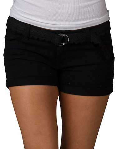 VANILLA STAR WOMENS Black Clothing / Casual Shorts