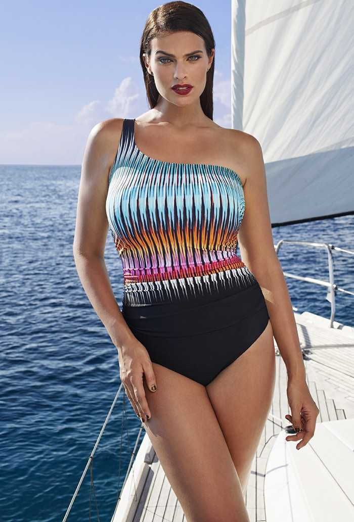 Hvar One-Shoulder Swimsuit
