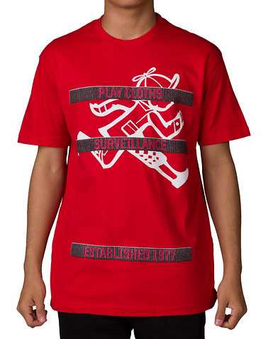 PLAY CLOTHS MENS Red Clothing / Tops