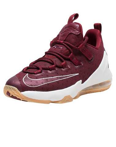 NIKE GIRLS Burgundy Footwear / Sneakers