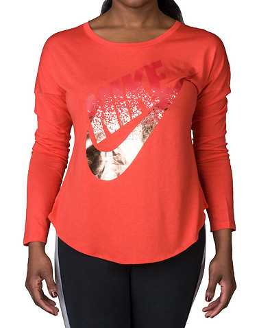 NIKE SPORTSWEAR WOMENS Medium Red Clothing / Tops S
