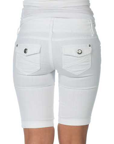 BOOM BOOM JEANS WOMENS White Clothing / Denim Shorts 1