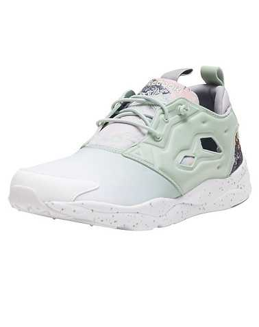 REEBOK WOMENS Medium Green Footwear / Sneakers