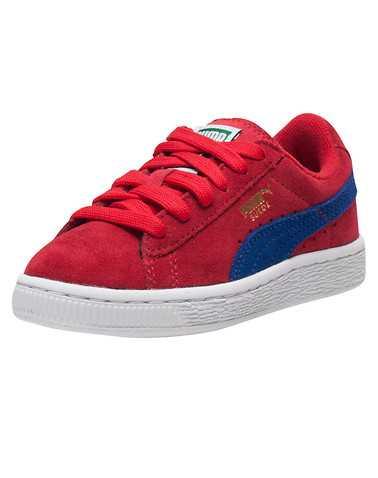 PUMA GIRLS Red Footwear / Sneakers