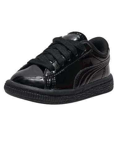 PUMA GIRLS Black Footwear / Sneakers