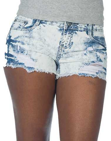 VANILLA STAR WOMENS White Clothing / Denim Shorts 3
