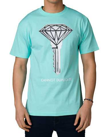 DIAMOND SUPPLY COMPANY MENS Medium Blue Clothing / Tops M