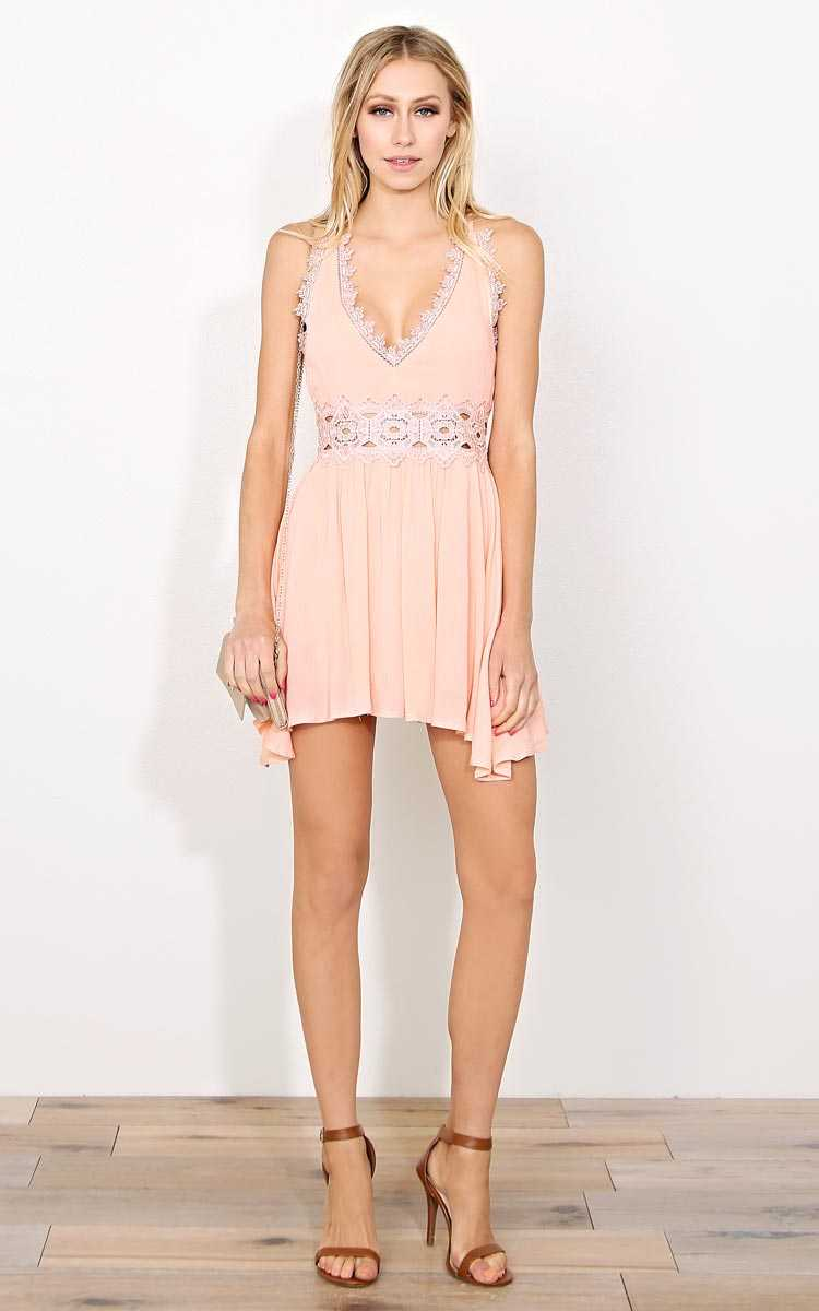 Spring Steady Woven Gauze Dress - - in Size by Styles For Less