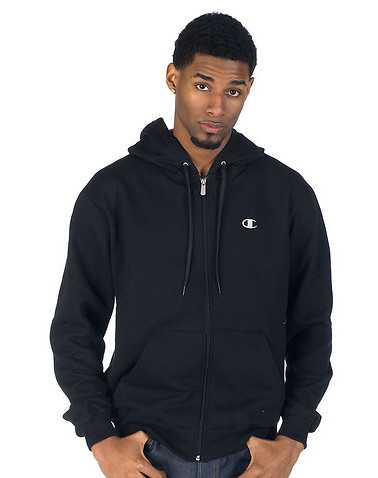 CHAMPION MENS Black Clothing / Hoodies M