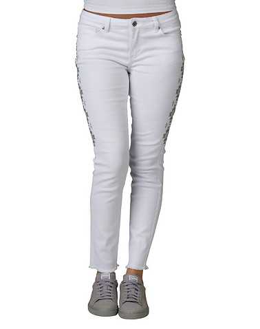 LA BELLE ROC WOMENS White Clothing / Jeans