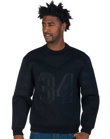 DECIBEL MENS Black Clothing / Sweatshirts XXL