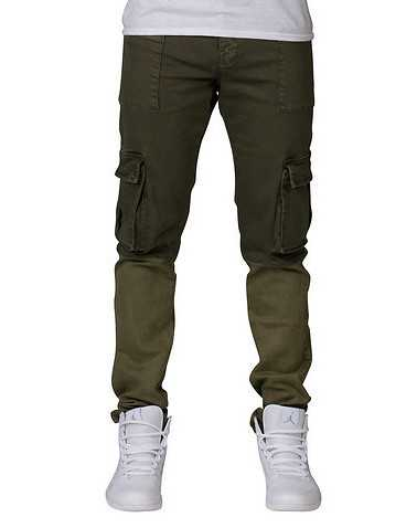 CRYSP MENS Dark Green Clothing / Pants 36