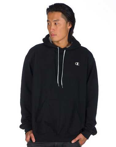 CHAMPION MENS Black Clothing / Hoodies