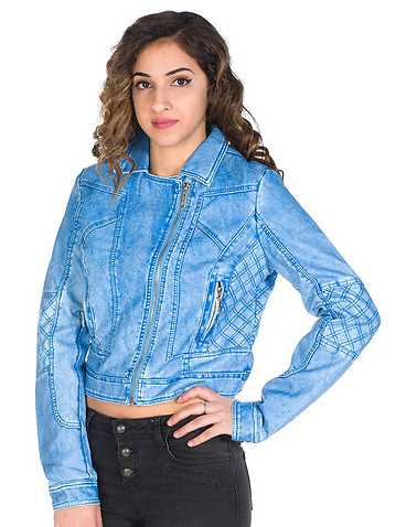 JSH WOMENS Blue Clothing / Light Jackets S