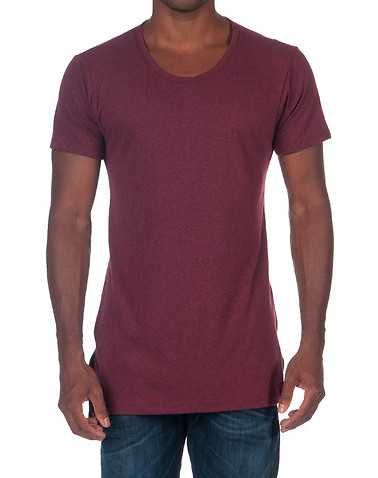 EPTMENS Burgundy Clothing / Tops