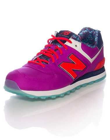 NEW BALANCE WOMENS Purple Footwear / Sneakers