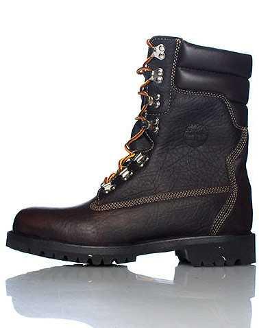 TIMBERLAND MENS Dark Brown Footwear / Boots