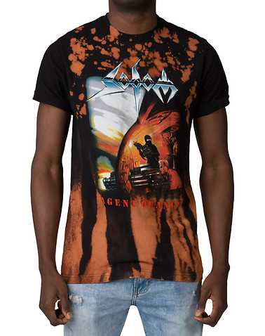 VINTAGE WEAR MENS Black Clothing / Tops