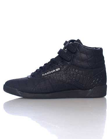 REEBOK WOMENS Black Footwear / Sneakers 7