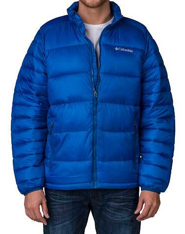COLUMBIA MENS Blue Clothing / Outerwear