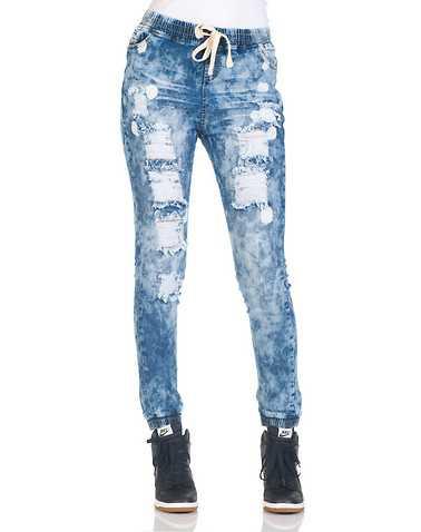 ESSENTIALS WOMENS Blue Clothing / Bottoms L
