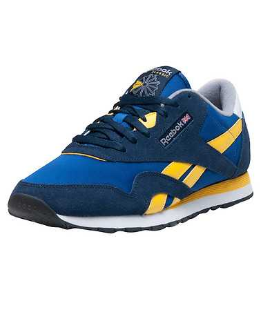 REEBOK MENS Blue Footwear / Sneakers