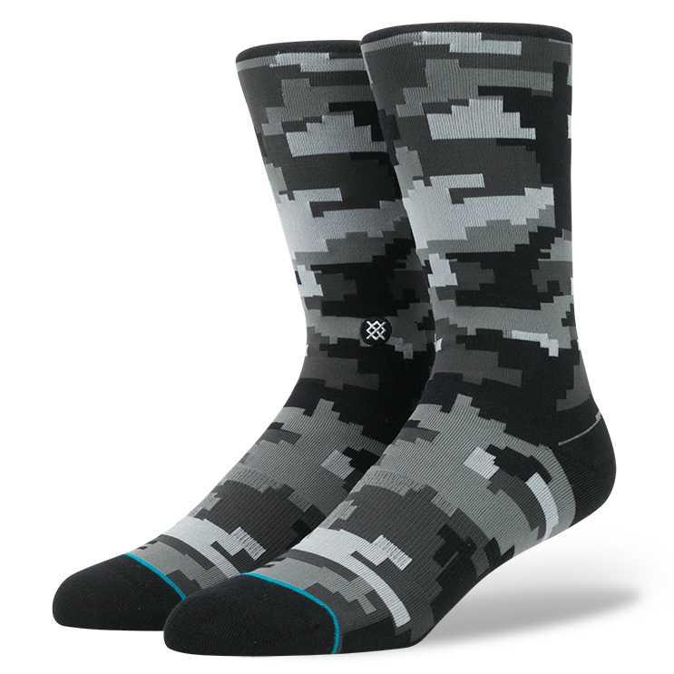 Stance Digi Camo GRY M JAMES HARDEN Socks