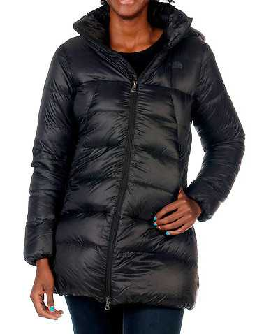 THE NORTH FACE WOMENS Black Clothing / Heavy Jackets XL
