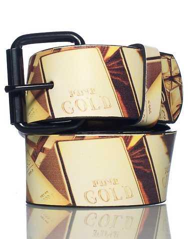 ESSENTIALS MENS Gold Accessories / Belts 38