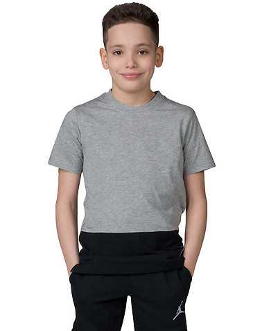 JORDAN BOYS Grey Clothing / Short Sleeve T-Shirts