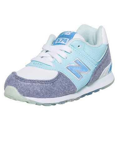 NEW BALANCE GIRLS Blue Footwear / Sneakers