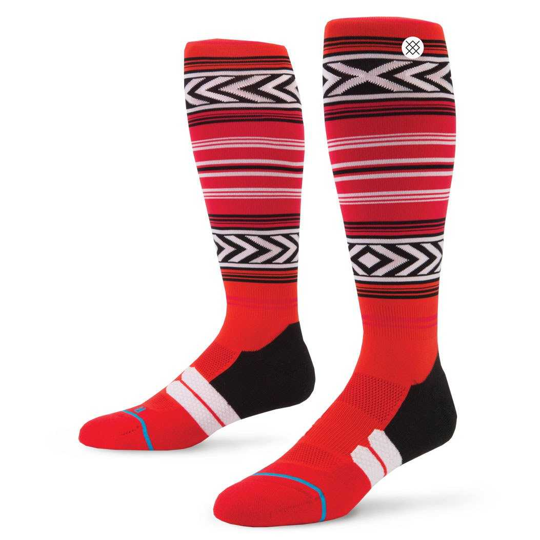 Stance Factory Mexi Red L/XL FUSION MOTO Socks