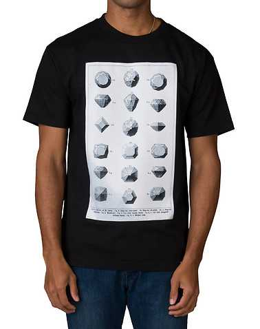 DIAMOND SUPPLY COMPANYENS Black Clothing / Tees and Polos