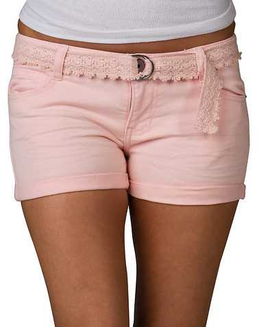 VANILLA STAR WOMENS Medium Pink Clothing / Casual Shorts