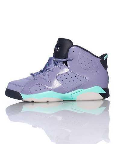 JORDAN GIRLS Purple Footwear / Sneakers