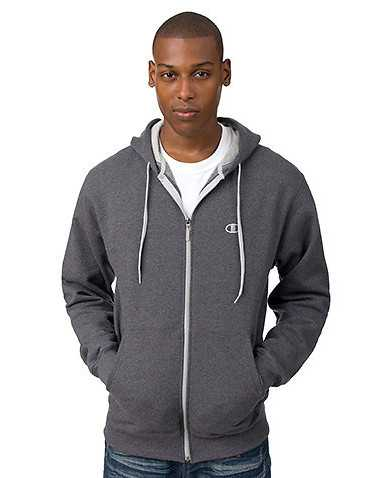 CHAMPION MENS Dark Grey Clothing / Hoodies M