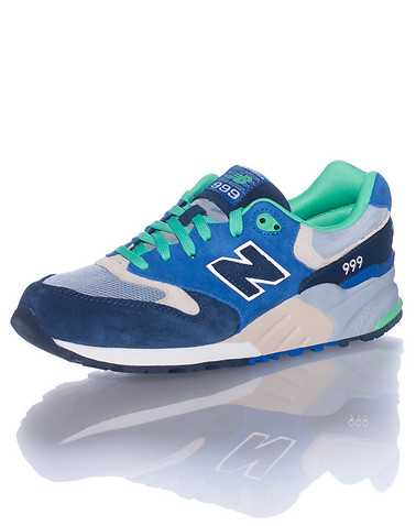 NEW BALANCE MENS Blue Footwear / Sneakers 10